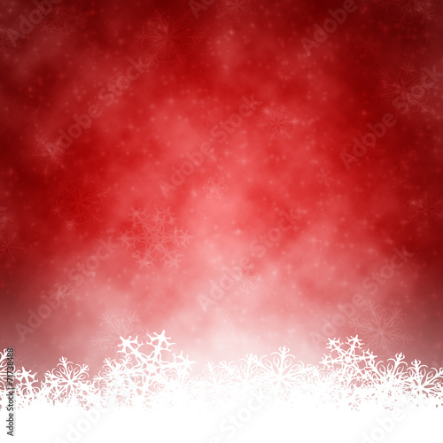 canvas print picture red christmas background