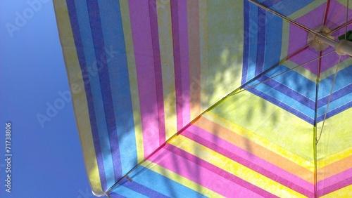 canvas print picture Sommer Sonnenschirm