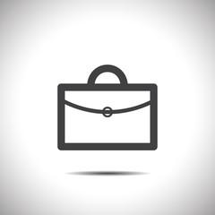 briefcase vector icon logo design