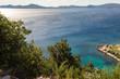 Côte et mer adriatique