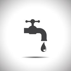 faucet vector icon