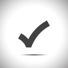 ok sign checkmark vector icon