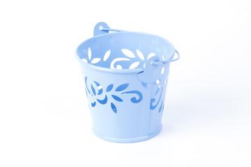Blue tree pot