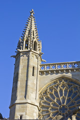 Carcassonne cathedral detail