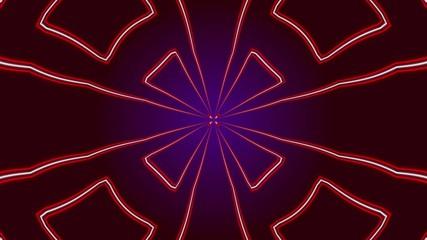 kaleidoscop, abstract loop motion background