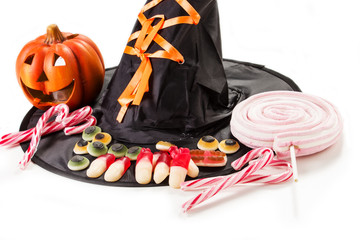 caramelle gommose per halloween