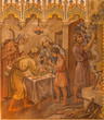 Trnava - Israelites at Pesach supper at Lord's Passover