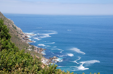 Seascape with Cape Point, South Africa