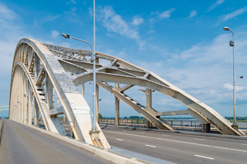 steel arch bridge