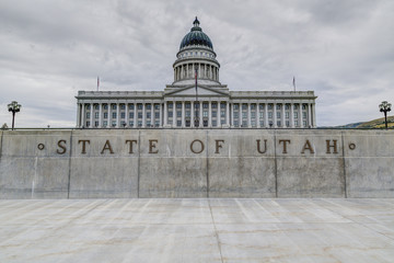 State Capitol Building in Salt Lake City Utah