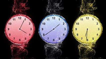 World Clock, Time Zone Concept