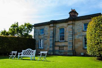 Garden at Castle Howard, North Yorkshire, UK