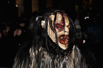 Devil mask.