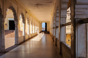 A Corridore inside Mehrangarh fort, Jodhpur