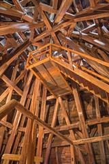 Bratislava - The framework form st. Martins cathedral