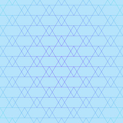 Repeating geometric tiles with triangles. Vector seamless