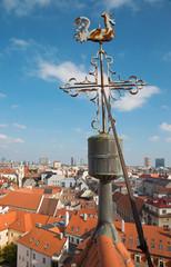 Bratislava - Outlook form st. Martins cathedral