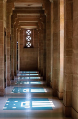 Inner view of Umaid Bhawan Palace of Rajasthan