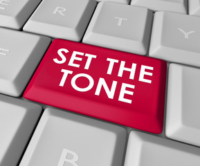 Set the Tone Computer Keyboard Button Message Meaning