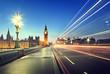 Quadro Big Ben from Westminster Bridge, London