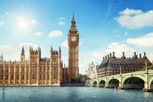Big Ben in sunny day, London - 71748822