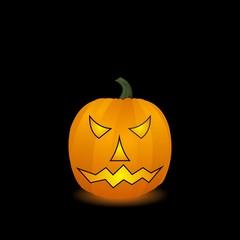Halloween pumpkin. Vector