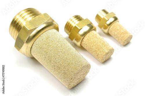 Pneumatik Schalldämpfer aus Sinterbronze - 71749882