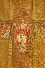 Bratislava - Needelwork of Jesus Christ with angels on vestment