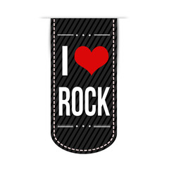 I love rock banner design