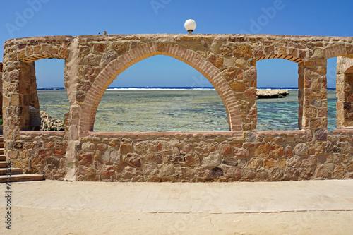 Naklejka archway to paradise
