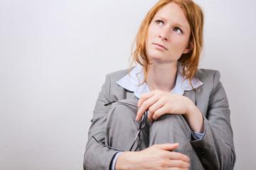 Stress or Failure at Work - Businesswoman
