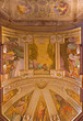 Bologna - Ceiling fresco in sacristy in church San Michele