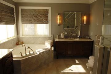 Modern bath room.