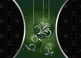 Illustration christmas background