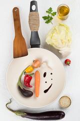 Vegetable Stir Fry Ingredients