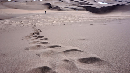 Great Sand Dunes National Park and Preserve is a United States N