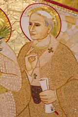 Bratislava - The John Paul II  in the Saint Sebastian cathedral