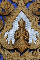Temple of Emerald Buddha decoration/Grand Palace, Bangkok