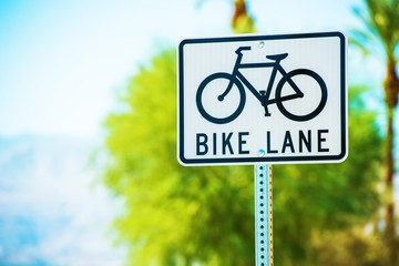 Bike Lane Street Sign