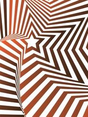 star optical illusion