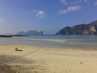 Bassa marea di Koh Phi Phi Don