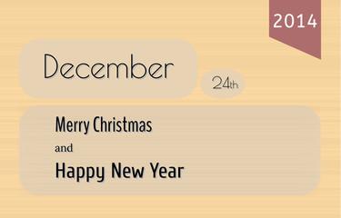 card, merry christmas