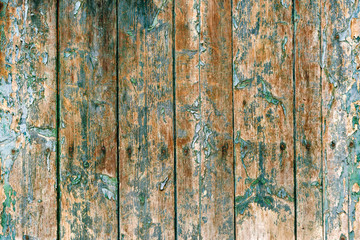 paint peeling from wood background