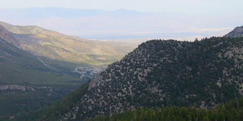 Mount Charleston Landscape Nevada