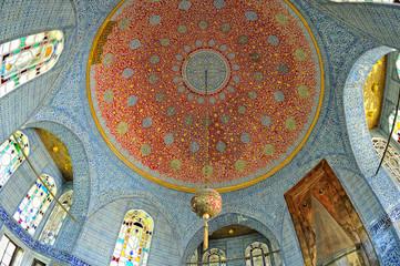 Istanbul, Turchia, palazzo Topkapi - interno
