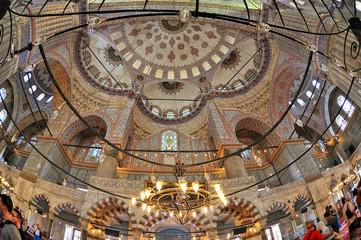 Istanbul, Turchia, Moschea Blu Sultan Ahmet Camii