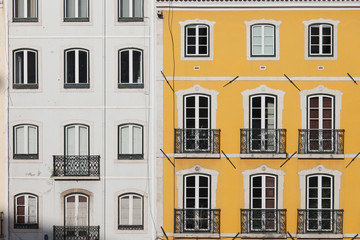 Traditional Row Houses in Lisbon
