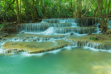 Hua Mae Kamin Water fall  Kanchanaburi, Thailand