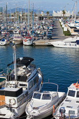 Port Olimpic Marina in Barcelona