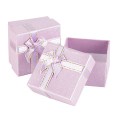 purple present box